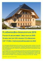 PlusEnergieBau-Gebäudestudie 2019 Kurzfassung jetzt bestellen