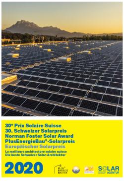 Cover Schweizer Solarpreis 2020: Die Gewinner