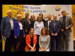 Embedded thumbnail for 29. Schweizer Solarpreisverleihung 2019 in Genf